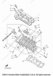Yamaha Motorcycle 2000 Oem Parts Diagram For Cylinder