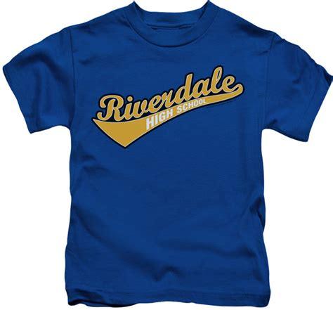 Archie Comics kids t-<b>shirt</b> <b>Riverdale</b> High School royal