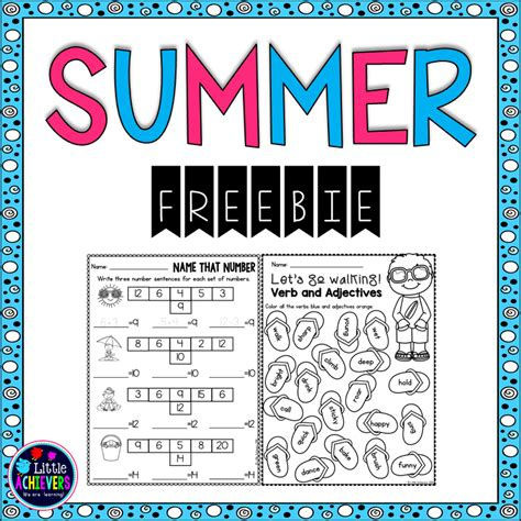 summer math activities for 2nd grade math coloring pages