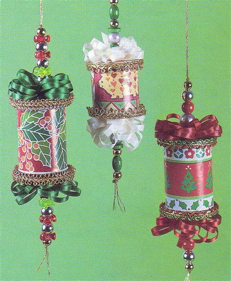 more thread spools christmas ornaments to make or give
