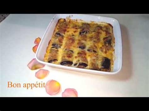 basma cuisine gratin d 39 aubergines et viande hachée trop bon كراتان