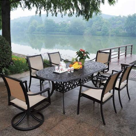 hanamint stratford sling dining set patiosusa