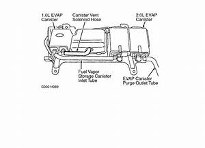 2001 Ford Escape Vacuum Hose Diagram
