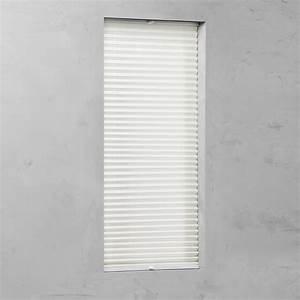 Plissee 65 Cm : plissee verspannt 20 mm creme 85 cm x 130 cm kaufen bei obi ~ Markanthonyermac.com Haus und Dekorationen
