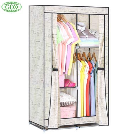 get cheap portable clothes closet aliexpress
