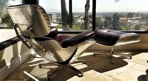 aluminum aviator lounge chair  cool chairs
