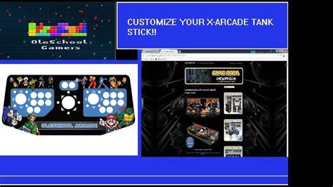 grafikstick adding customized vinyl graphics to arcade tank stick youtube