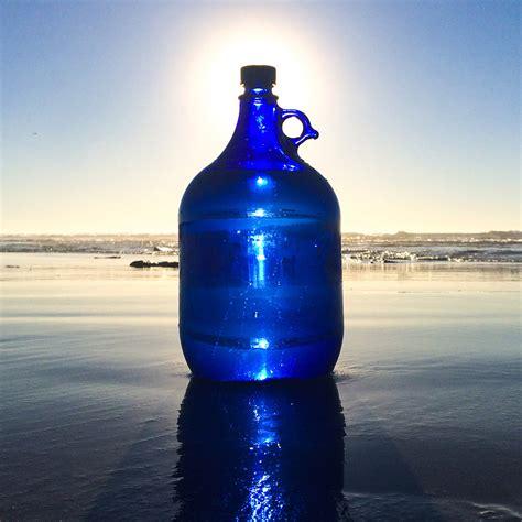 Five Liter Plain Bottle  Blue Bottle Love