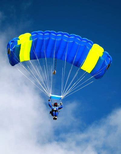 Parachute Dive by Equipment Safety Everest Skydive