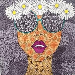 70's gal #patterns #art #daisies #trippy #flowers | My ...