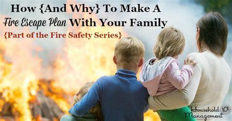 fire escape plans    family