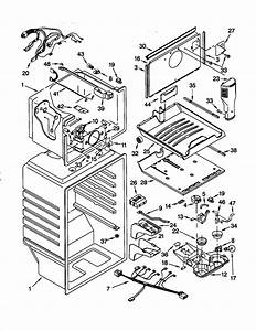 Kenmore Refrigerator 106 79202990 Manufactured  6  99 Defrost