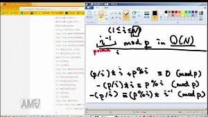 Modulo Inverse Berechnen : calculating modulo inverse in linear time youtube ~ Themetempest.com Abrechnung