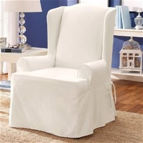 white wingback chair slipcover white wing chair slipcover for the home