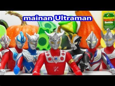 mainan ultraman ultraman born of vegetables mainan ginga zero tiga taro