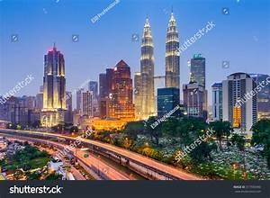 Kuala Lumpur Malaysia City Skyline Stock Photo 317593490 ...