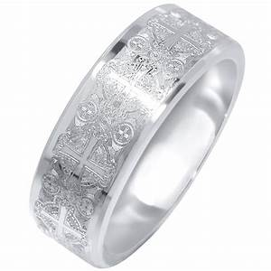 15 collection of mens wedding bands with cross With mens wedding rings with crosses