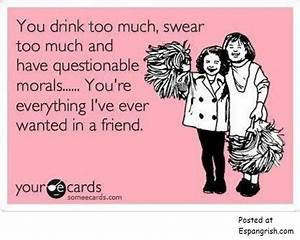 Ecards Funny Friendship