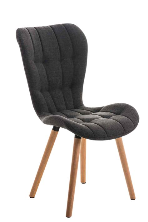 dining chair elda tweed covers fabric lounger seat wood