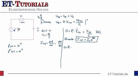 herleitung der formel zur aufladung eines kondensators