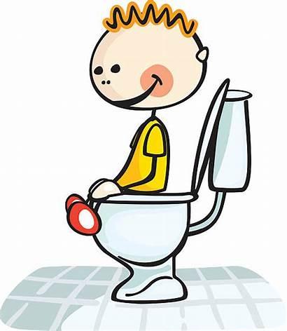 Toilet Potty Training Clipart Clip Vector Illustrations
