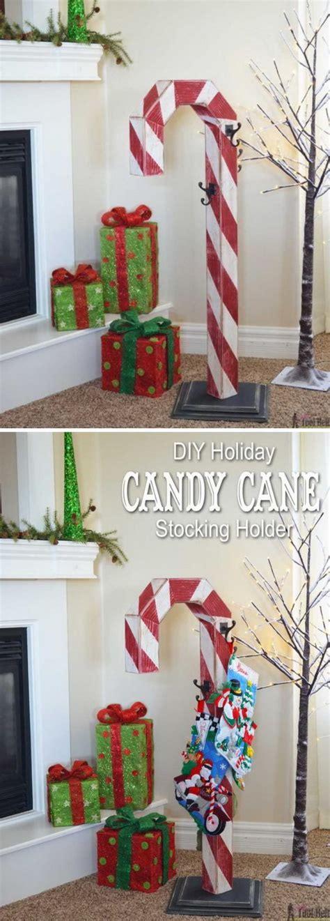 diy stocking holders  christmas decoration hative