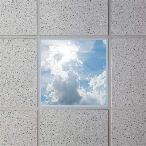 led skylight 2x2 dimmable even glow 174 led panel light