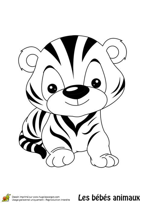 jeux de cuisine de high coloriage bébé tigre
