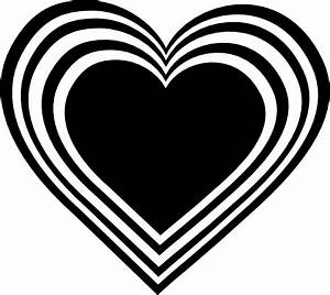 Wedding Hearts Clipart Black And White | Clipart Panda ...