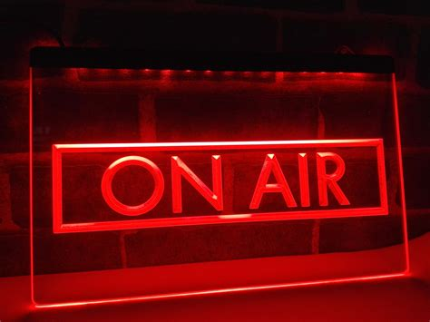studio on air light lb480 on air recording studio new nr led neon light sign
