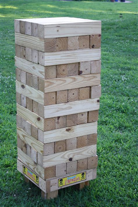 backyard jenga outdoor and activities favorites
