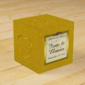 shop 50th wedding anniversary party on wanelo With 50th wedding anniversary favor boxes