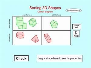 App Shopper  Sorting 3d Shapes Carroll Diagram  Education