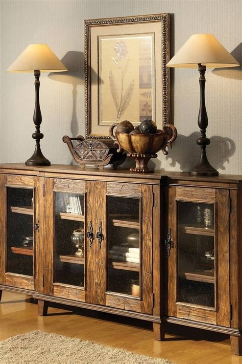 photo  rustic sideboards
