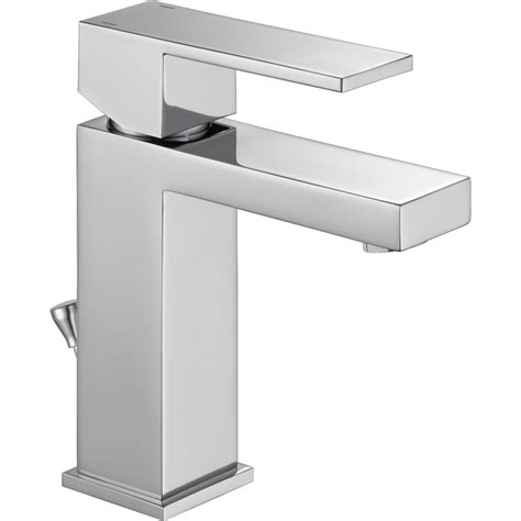 delta ara single faucet delta faucet 567lf pp modern polished chrome one handle