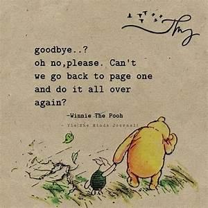 Goodbye?? oh no... Classic Goodbye Quotes