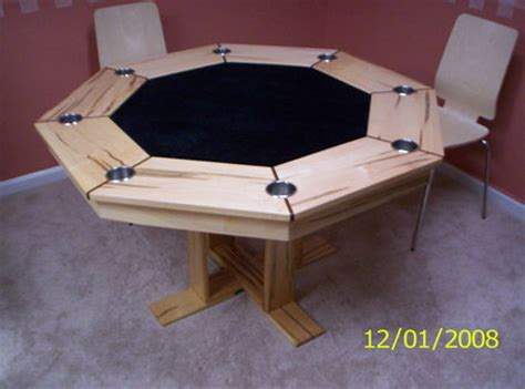 octagon game table plans pdf diy wood plans poker table download wood projects for