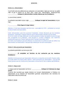 bureau d une association loi 1901 comment retrouver les statuts d 39 une association loi 1901