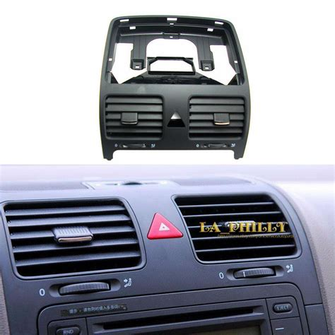 oem central dashboard air ac heater vent black for vw jetta 3 golf gti mk5 mkv ebay