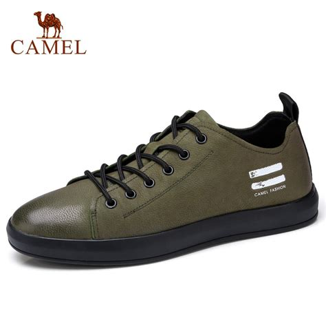 Camel Men Genuine Leather Casual Shoes Classic Fashion
