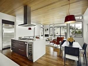 cuisine ouverte sur salon une solution pour tous les espaces With cuisine ouverte ilot central