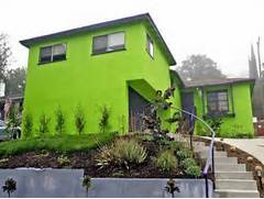 Bright Green House Bedroom Exotic Green Paint Colors For Exterior Home Design Exotic