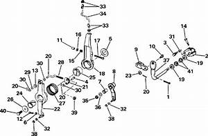 Johnson Throttle  U0026 Shift Linkage Parts For 1991 150hp J150cxeie Outboard Motor