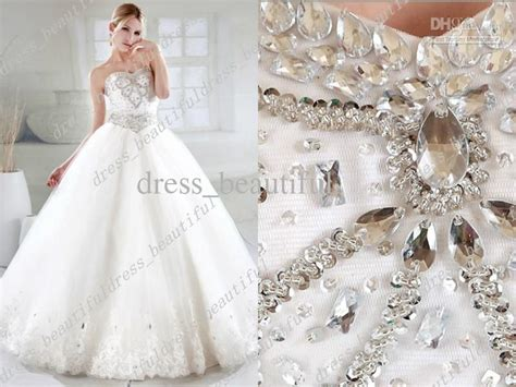 Elegant Luxury Wedding Dresses Ball Gown Sweetheart