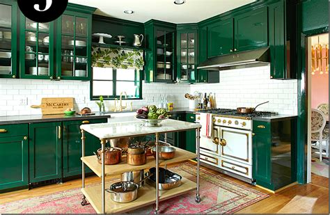 emerald green kitchen 12 of the kitchen trends awful or wonderful 3561