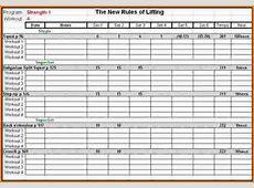 7 workout tracking sheet Divorce Document