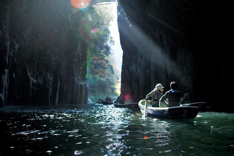 Takachiho Gorge Boat Tour With Images Japan Travel