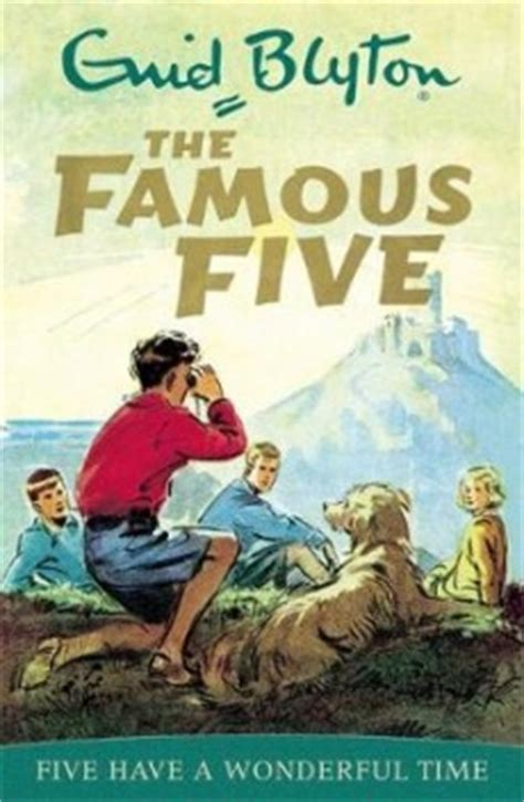 Famous Five Five Have A Wonderful Time  Whsmith Books