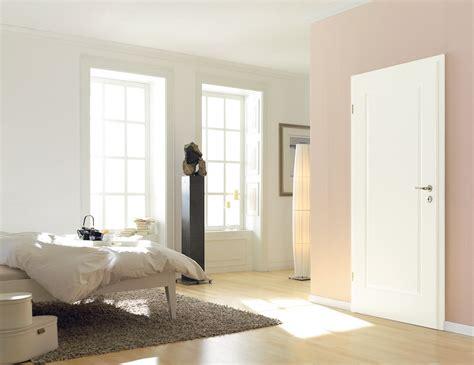 Klassische Weiße Tür Mit Rechteckiger Fräsung Bauwiki