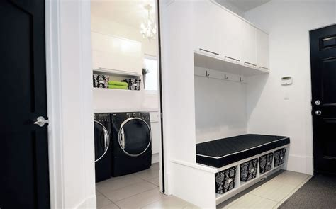 Contemporary-laundry Room